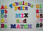 Die Cut IRON ON Felt Letters -Choice of Upper, Lowercase & Numbers 1.5""