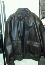 G.I. style leather A2 flight jacket