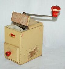 Alte Leinbrock's 510 Holz Kaffeemühle Plastikschublade Metallmahlwerk Mokkamühle