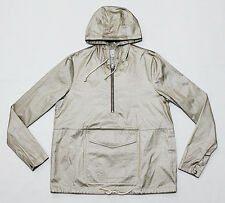 $715 Italy BAND OF OUTSIDERS Silver-Gold Sparkle Windbreaker Jacket 1 46 Small