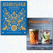 Fermented A Beginner's Guide Collection 2 Books Set Pack Mamushka Recipes NEW