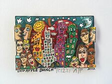 "James RIZZI: original 3D ""BIG APPLE BUNCH"", Mini, handsigniert - VERGRIFFEN"