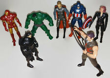 "Lot 7 Avengers Action Figures Marvel SuperHeroes legends 7"" + Gift Zod Toys Kids"