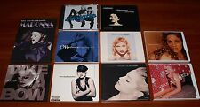 MADONNA 10x DISC Lot 9x USA REMIX CD SINGLE & 1x VCD REVIEW Rare Editions LTD!
