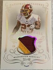 DeAngelo Hall 23/49 His Jersey # 2014 National Treasures Game Worn Patch M-DH