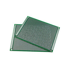 2PC 7cm X 9cm Double Side Printed Circuit Board Blank Protoboard PCB 1.6mm thick