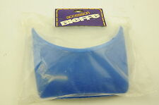 Old school bmx 80`s made bieffe casque bouclier visière guard new old stock bleu nos