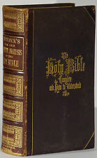 Hitchcock's New Complete Analysis Holy Bible 1874 Thomas Nast illustration