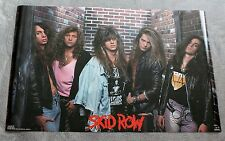Skid Row III 1990 Sabo Hill Solinger Glam Heavy Metal Funky Poster #3279 VGEX C7