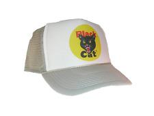 Black Cat Firecrackers hat Trucker Hat Mesh Hat grey new adjustable