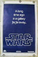 STAR WARS episode IV Movie Poster TEASER B a Long Time Ago in a Galaxy Far Away