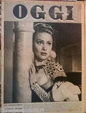 OGGI 19 novembre 1953 Martine Carol Disordini Trieste Winterton Eugenio O Neill