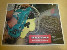 VINTAGE! BOLENS CHAIN SAWS, 5700, 5600, 5500, 3900, SERIES SALES BROCHURE MANUAL
