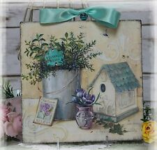 "Vintage ""HERBS""~Shabby Chic~Country Cottage style~Wall Decor Sign"