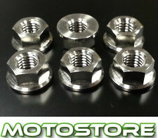 TITANIUM SPROCKET NUTS FITS HONDA RVF400 NC35 1994-1999