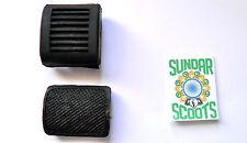 Negro Arranque Patada Y Freno Trasero Pedal covers.suitable Para Lambretta Scooters