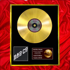 BAD COMPANY  CD GOLD DISC LP VINYL FREE P+P!