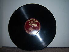"""Victrola 89093 Alma Gluck and Efrem Zimbalist - Fiddle and I 1915 10"""" 78 RPM"""
