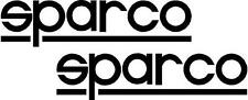 2 x Sparco Logo  Stickers,Graphics,Decals Colour Choice