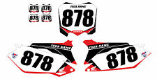 2009 2010 2011 2012 HONDA CRF 450R CUSTOM NUMBER PLATE BACKGROUND​ GRAPHICS