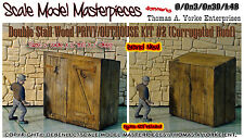 Double Stall WoodPRIVY/OUTHOUSE KIT YORKE/Scale Model Masterpieces On3/On30 1:48