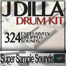 J DILLA Drum Sound Kit Hip Hop Rap Akai MPC NI Maschine Ableton Logic Samples
