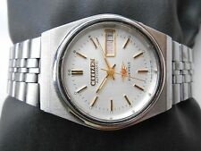 RARE VINTAGE JAPAN MADE MID SIZE LADIES & GENTS CITIZEN 21J AUTOMATIC WRISTWATCH