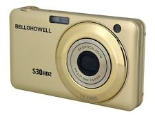 NEW Bell & Howell S30HDZ 15 Megapixel Compact Camera - Champagne S30HDZ-C