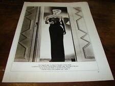 RITA HAYWORTH - MINI POSTER N&B N°1 RECTO VERSO !!!!!!!