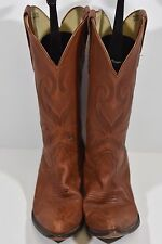 DURANGO WOMENS 9 M RD4162 BROWN LEATHER WESTERN ROPERS COWBOY BOOTS