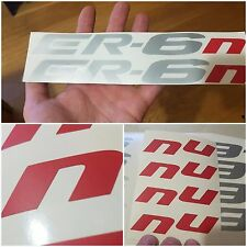 Kawasaki ER-6n sticker 2 pcs.  SI-034