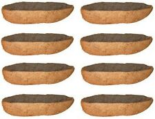 """(8) Panacea Products 88598 30"""" Trough Window Box Planter Replacement Coco Liners"""