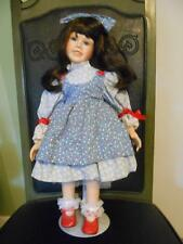 "1993 MOMENTS TREASURED PORCELAIN HANCRAFTED ""PAMELA"" DOLL"