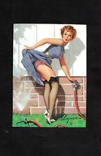 Gil Elvgren's Calander Pinups Collector Cards - No.61 - 'A Near Miss'