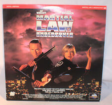 Laserdisc [2] * Martial Law 2 Undercover * Jeff Wincott Cynthia Rothrock Extend