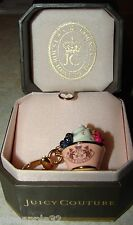 Juicy Couture ICE CREAM DISH Charm RETIRED NEW IN BOX FULL SIZE CHARM