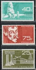 1965 French colony stamps, Polynesia, full set MNH, SC C34-6