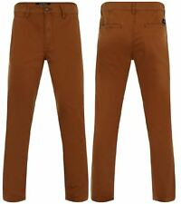 BNWT New Mens Branded Pull & Bear Slim Fit Designer Chinos Jeans Pants Trousers