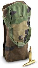 Double Magazine M16 M4 Mag Pouch Woodland (BDU) Camouflage 1(One) MOLLE II Doubl