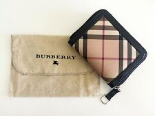 Authentic Made In Italy Burberry Nova Check zip-around wallet purse
