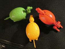 Lot of 3 Meteorbs HE-MAN MOTU Style Egg 80s Toys Collectable@Transformable ANIMA