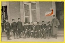 cpa France LE MANS en 1914 Carte Photo MILITAIRES SOLDATS du 31e Régiment Sabres