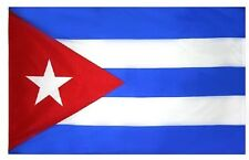 Cuba Cuban 3' x 5' Flag w/ Sleeve for Pole Pride Country Soccer Banner