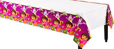 """DORA THE EXPLORER PARTY SUPPLIES PLASTIC TABLE COVER / TABLE CLOTH 54"""" x 96"""""""