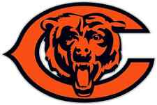 "Chicago Bears NFL Football Bumper Locker Notebook Sticker Decal 5""X3.5"""