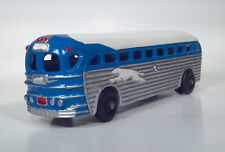 !!RESTORED!! Realistic Toy GM PD3751 Silversides Greyhound Coach Scale Model Bus