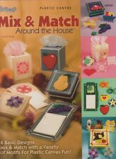 "1 Needlecraft ""Mix & Match"" Plastic Canvas Pattern Book"