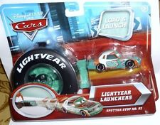 Disney Cars Load & Lunch Lightyear Launchers Sputter Stop # 92 in Carry Case