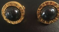 Karl Lagerfeld ( Chanel) Clip on gold and black earrings