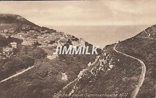 Old Postcard Synton from Summerhouse Hill Real Photograph
